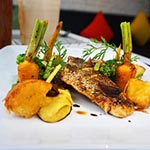 Seared White Snapper