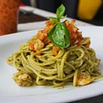 Shrimp Basil Pesto